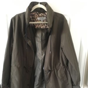 Nine West XL camp green lightweight jacket
